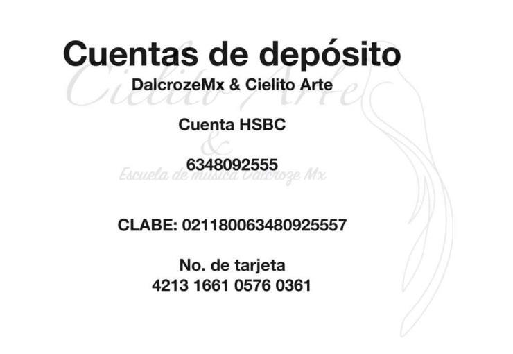 Cuenta HSBC Cielito Arte